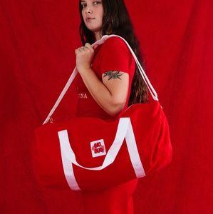 Big Bud Press - Red Duffel Bag